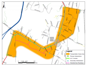 20140908_Milton_US7_Corridor_Study_Area_Map